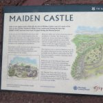 Maiden castle Fort